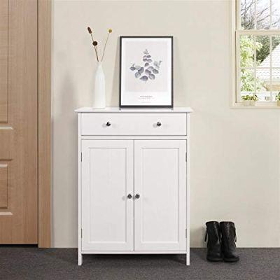 Yaheetech Free Standing Bathroom Cabinet Storage Cabinet