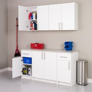 "Prepac Elite Storage Cabinet 32"" Wall, White"