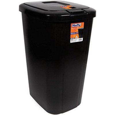 Lightweight and Durable Hefty Trash Can 13 Gallon