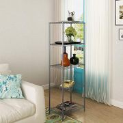 Home-Like 5-Tier Wire Shelving Heavy Duty Shelf Metal Storage Rack