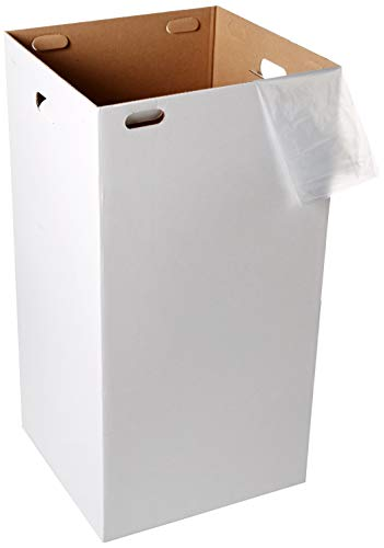 One Earth Disposable and Reusable Corrugated Cardboard Trash