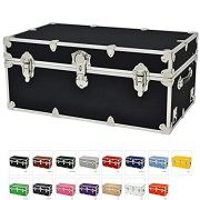Rhino Sticker College & Camp Trunk with Wheels & Tray