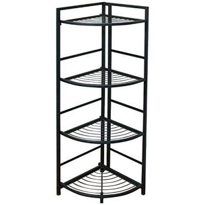 Flipshelf-Folding Metal Shelf-Small Space Solution-No Assembly-Home