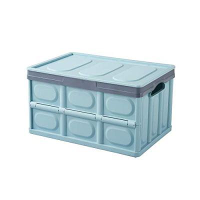 FACAI 56L Trunk Organizer and Storage Box Organizer with Lid