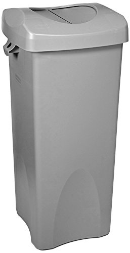 Rubbermaid Commercial Products Untouchable Square Trash/Garbage Container