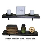 SDI Designs Rustic Farmhouse Floating Shelf Set, the Weathered Collection