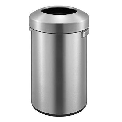 EKO Urban Commercial 90 Liter / 23.7 Gallon Open Top Trash Can