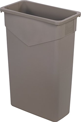 Carlisle TrimLine Rectangle Waste Container Trash Can Only