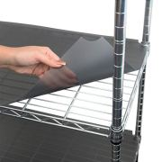 Houseables Wire Shelf Liner, Plastic, Non Adhesive