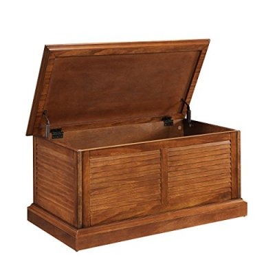 Wooden Storage Trunk Table - Lift Top w/Soft Close Hinges