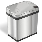 iTouchless 2.5 Gallon Bathroom Touchless Trash Can