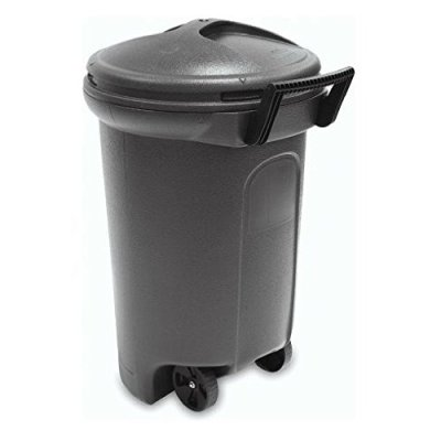 United Solutions TrashMaster 32 Gallon Wheeled Trash Can