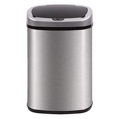 Kitchen Trash Can for Bathroom Bedroom Home Office Automatic Touch Free