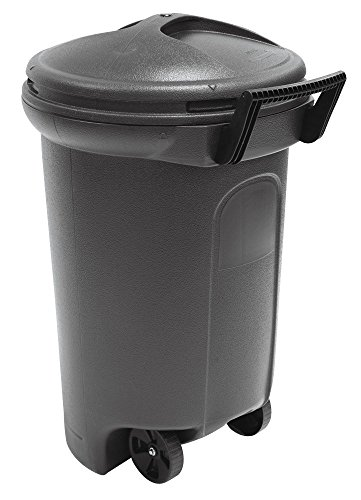 United Solutions Critter Proof Wheeled Garbage/Trash Can