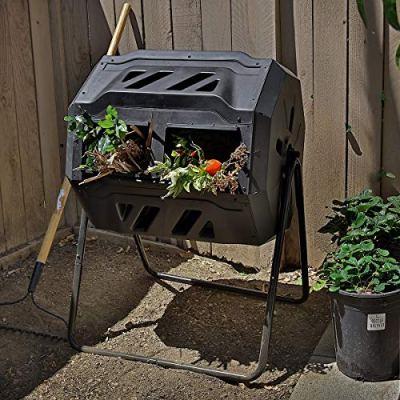 Barton Tumbler Composter Composting Bins Garden Easy Turn System