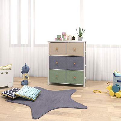 Lifewit Small Storage Drawer Unit with Metal Frame for Children