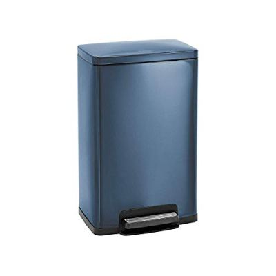 Tramontina Blue Contemporary Rectangular Step Can Freshener System