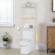 HOME BI Over The Toilet Storage Bathroom Spacesaver