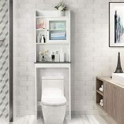 Yaheetech Over The Toilet Cabinet Space-Saving