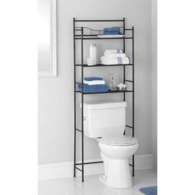 3-Shelf Bathroom Space Saver, Oil Rubbed Bronze