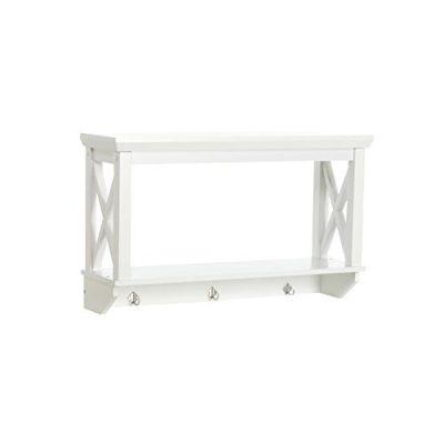 RiverRidge X-Frame Collection Bathroom Wall Shelf