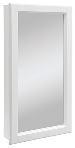 Design House Wyndham White Semi-Gloss Medicine Cabinet Mirror