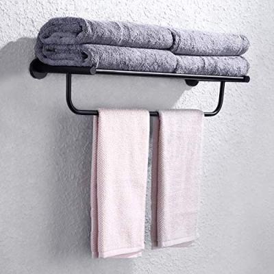 KES Towel Rack with Towel Bar SUS Stainless Steel 23-Inch Bathroom