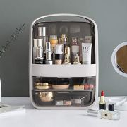 B BAIJIAWEI Dust-Proof Makeup Organizer - Cosmetic Jewelry Storage