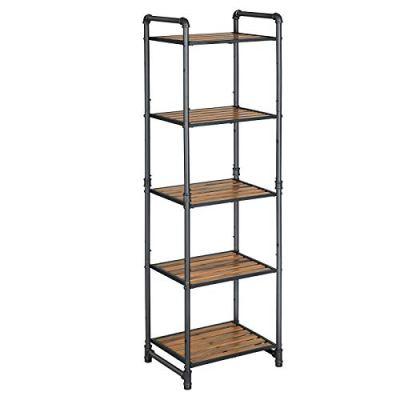 SONGMICS Bathroom Shelf, 5-Tier DIY Storage Rack