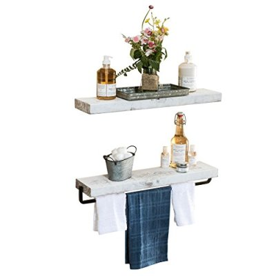 Del Hutson Designs True Floating Towel Holder Set