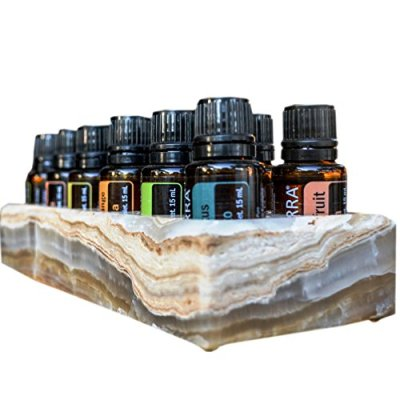 Shades of Stone Luxurious Essential Oils Holder Carrying Case