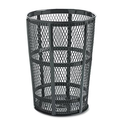 Rubbermaid Commercial Street Basket Trash Can, 45 Gallon