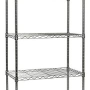 Apollo Hardware Chrome 5-Shelf Wire Shelving