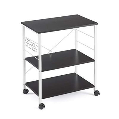 Mr IRONSTONE 3-Tier Kitchen Baker's Rack Utility Microwave Oven Stand Storage