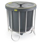 Polder Kitchen Composter-Flexible silicone bucket inverts