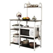 sogesfurniture 3-Tier/4-Tier Kitchen Baker's Rack Utility Storage