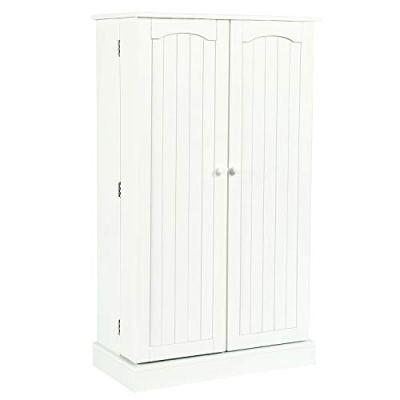 HOME BI Kitchen Pantry Cabinet 5 Door Storage Cabinet