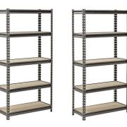 Muscle Rack Silver Vein Steel Storage Rack