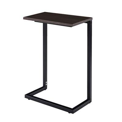 "Sunon C Shape Sofa Side Snack Table,17.3""x 9.8""x 26.5"" TV Tray End Table"