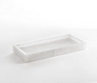 Alabaster Tray, WHITE