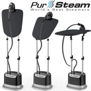 Professional Series Garment Steamer for Clothes Dual-Pro Iron & Pressurized
