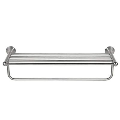 HouseAid 24-Inches Stainless Steel Bathroom Towel Shelf