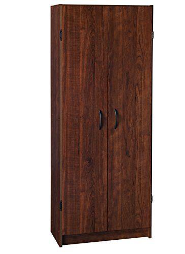 ClosetMaid Pantry Cabinet, Dark Cherry