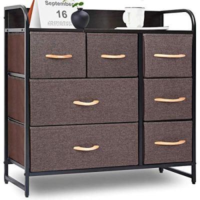 TUSY Drawer Dresser Storage Tower, Organizer Unit for Bedroom