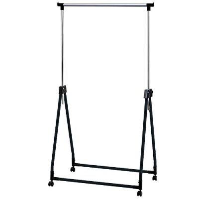 Tatkraft Halland Adjustable Clothes Rack, Hanger on Wheels