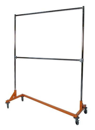 Double Rail Medium Duty Z Rack Garment Rack