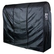HANGERWORLD Black 6ft Waterpoof Nylon Zip Clothes Rail Cover
