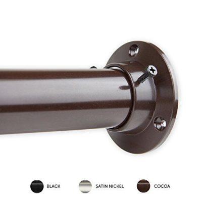 "Rod Desyne 1.5"" Premium Heavy Duty Adjustable Closet Rod"
