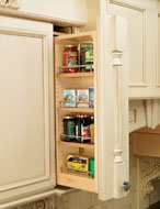 """Rev-A-Shelf 6"""" Wall Filler Pull-Out with Adjustable Shelves"""