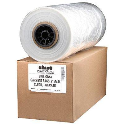 Plasticplace.65 Mil Clear Garment Bags